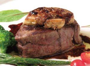 フォアグラと牛フィレ肉のロッシーニ風