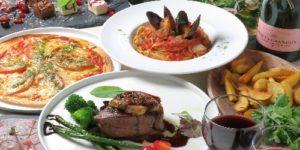 フォアグラと牛フィレ肉のロッシーニコース